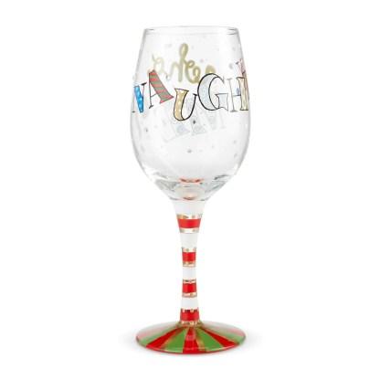 Naughty...Who Me? 15oz. Wine Glass by Lolita 6004434