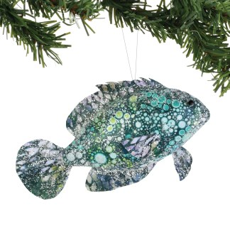 Pearl Bay Watercolor Fish Ornament - Coast to Coast by Department 56 6004602