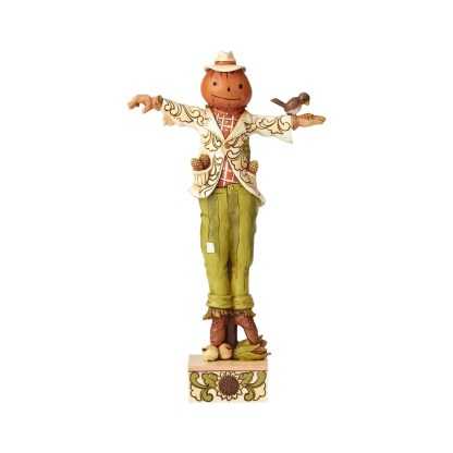 Scarecrow with Pumpkin Head - by Jim Shore Heartwood Creek 6001543