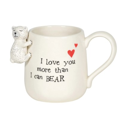 Sculpted Bear Mug by Our Name Is Mud - 6005730