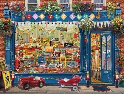The Toy Shop 550pc by White Mountain Puzzles - 1382PZ