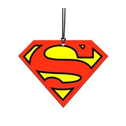 Otto's Granary DC Comics Originals Superman Classic Logo Hanging Acrylic Print