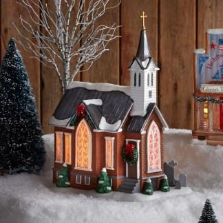 Otto's Granary Grace Church by Jim Shore Village & Dept 56