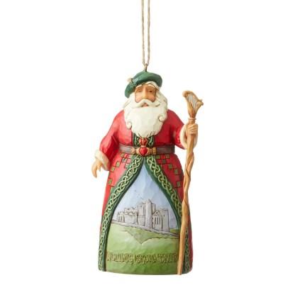 Otto's Granary Irish Santa Ornament by Jim Shore