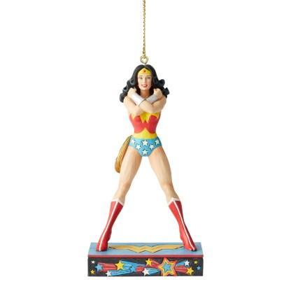 Otto's Granary Wonder Woman Silver Age Ornament by Jim Shore