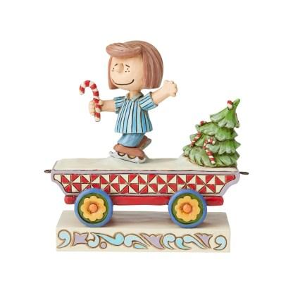 Otto's Granary Peanuts Peppermint Patty Train by Jim Shore