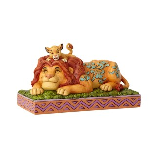 Otto's Granary Lion King Simba & Mufasa by Jim Shore