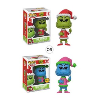 Otto's Granary Dr. Seuss The Grinch Santa Grinch #12 Pop! Vinyl Figure