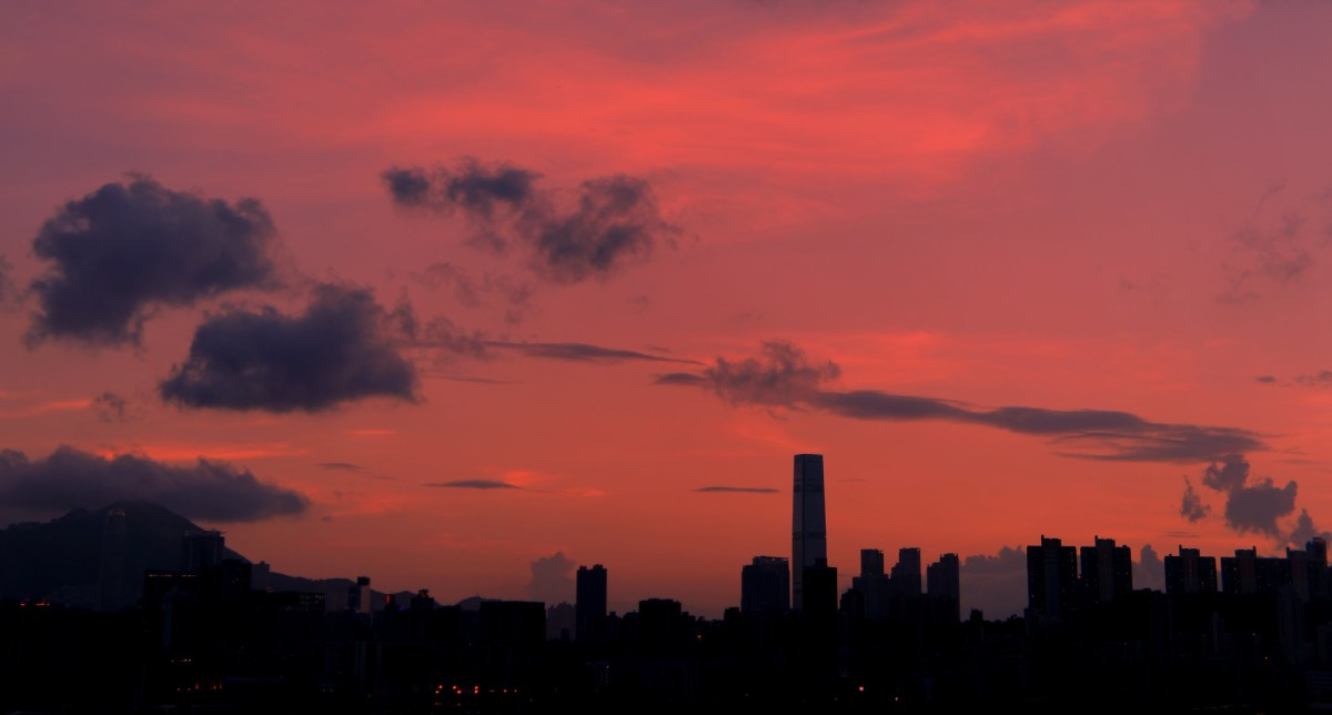 """""""Red Sky at Night....."""" by ROSS HONG KONG is licensed under CC BY-NC-SA 2.0"""