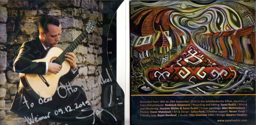 Sanel Redzic Journey-booklet