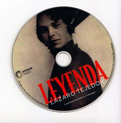 Leyenda - Lazaro Tejedor_CD