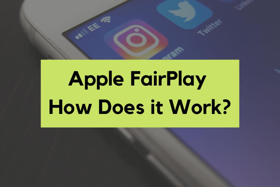 apple fairplay drm