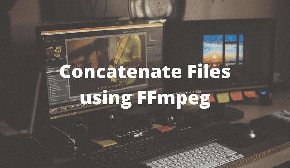 concatenate mp4 files using ffmpeg