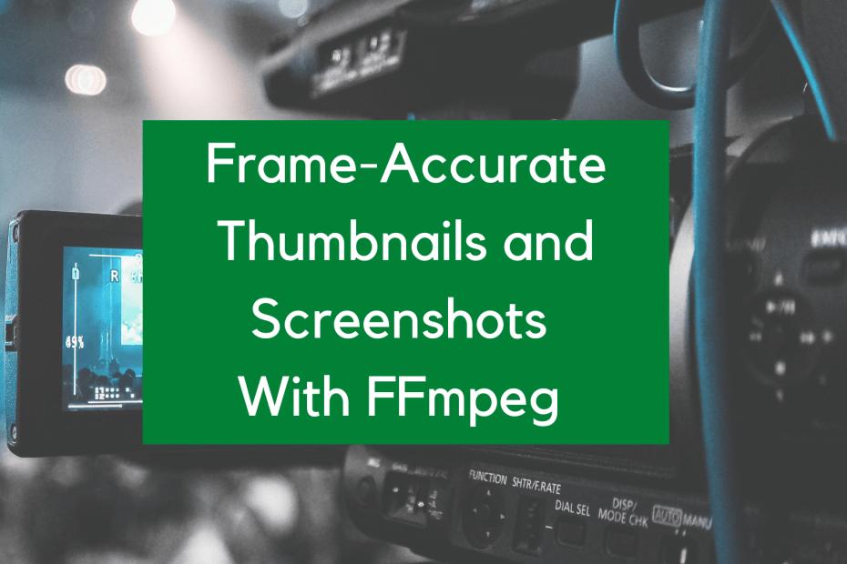 thumbnails ffmpeg