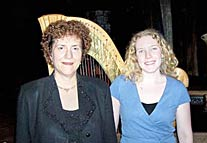 Susan and her sub Liesl Tison at the Shakespeare Tavern. They played the Fantasticks from May 06 – June 25 2006
