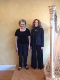 Lisa and Susan perform Atl Harp Center