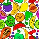 Minky Way Fabrics Fruits
