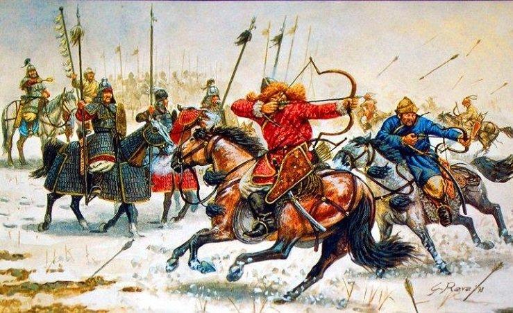 Spartalılar Moğollar Savaşı