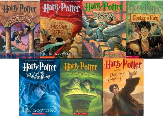 Harry-Potter-series-serisi