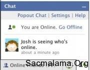 facebook eski sohbet penceresi