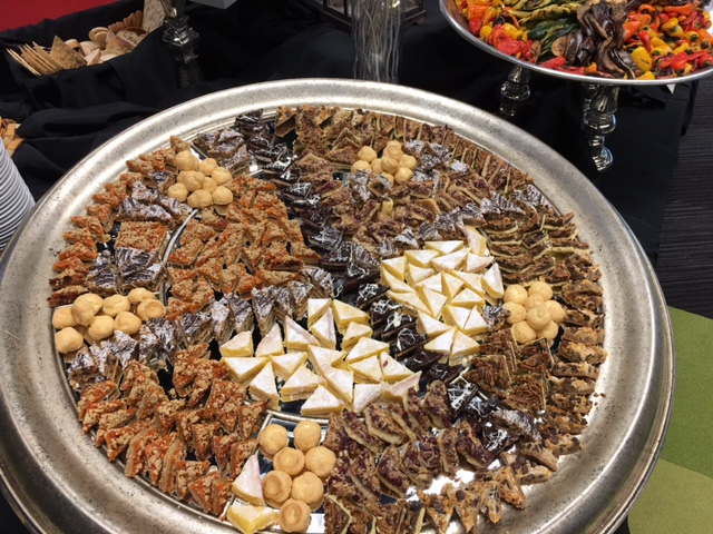 Catering menu for weddings and special events