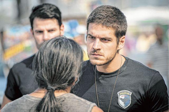 """Marcos Pigossi interpreta policial do Bope em """"A Regra do Jogo"""". (Foto: Divulgação)"""