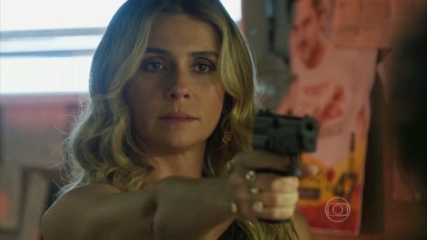 """Giovanna Antonelli como Atena em """"A Regra do Jogo"""" (Foto: Reprodução/Globo)"""