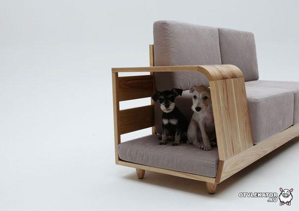 Собачий домик-софа