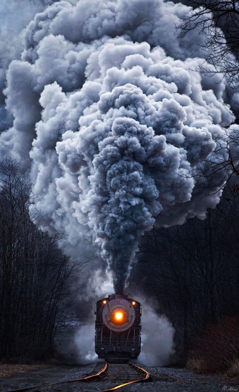фотографии величественных паровозов