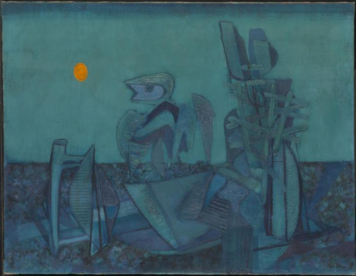 Jankel Adler (1895-1949) No-Man's Land
