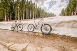 Śnieżka rowerem (2)