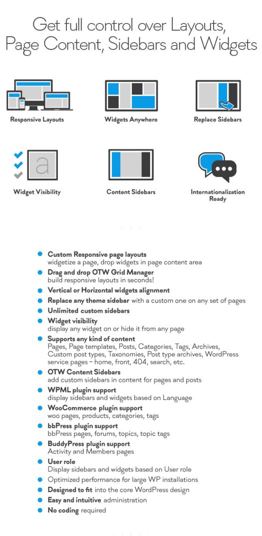 Sidebar & Widget Manager for WordPress - 1