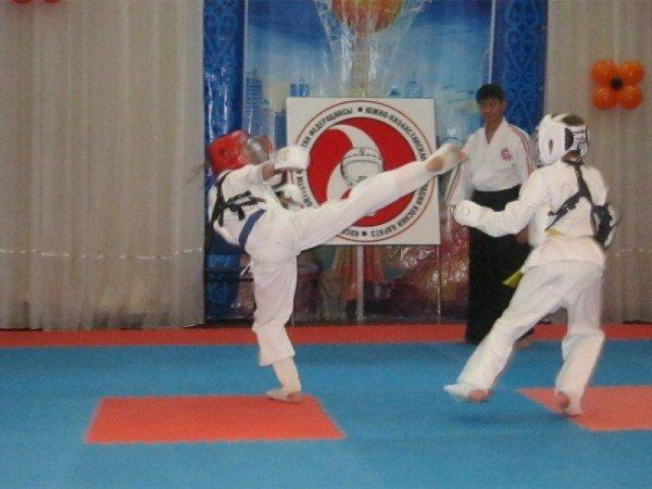 Соревнования по косики-каратэ отличаются жестокостью