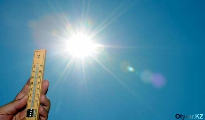 Солнце. Лето. Жара