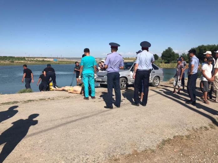 Утонувший на озере Кайнар булак