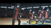 JABBAWOCKEEZ fait un show incroyable lors de la finale NBA 2017