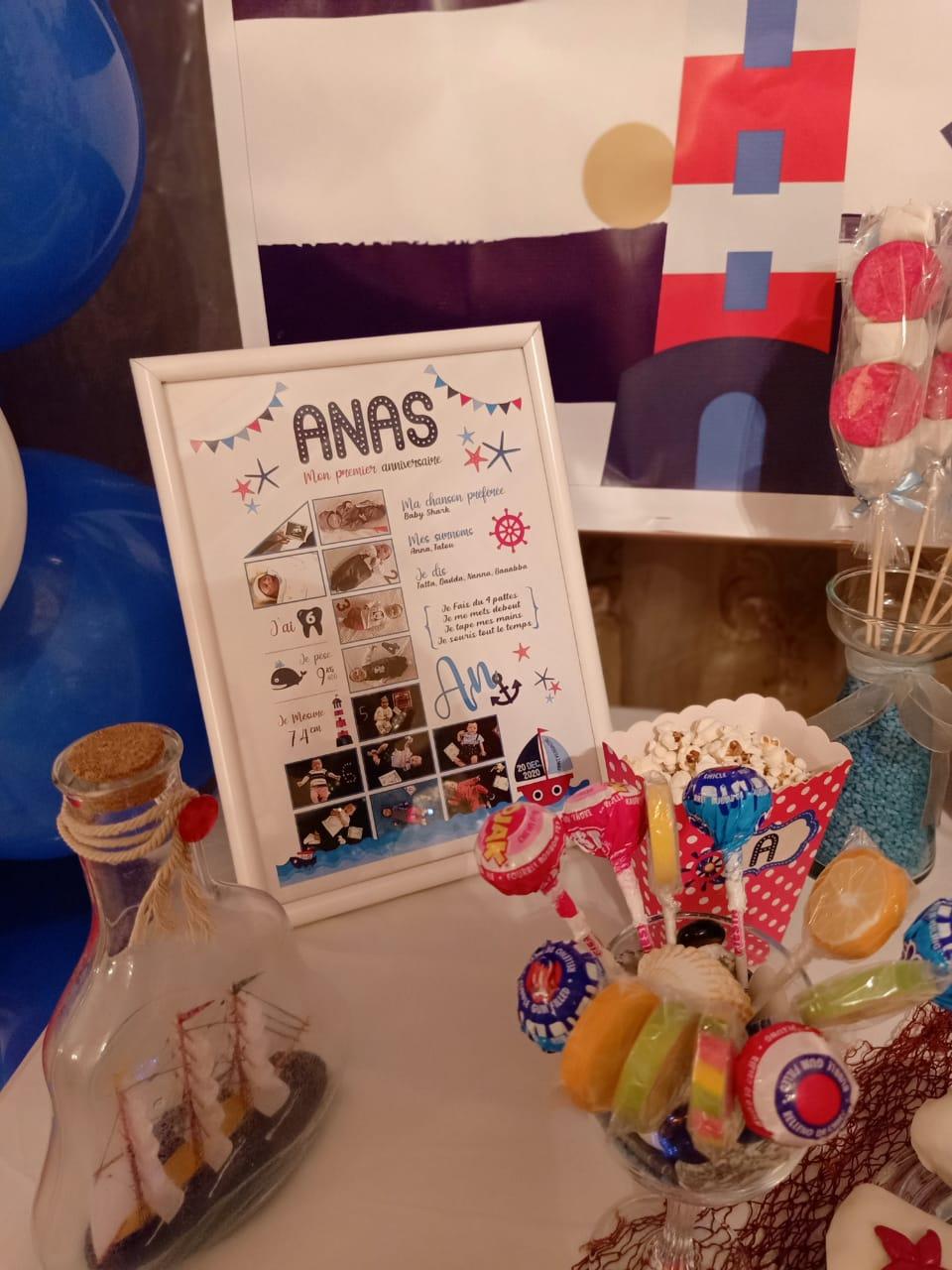 Birthday crafts Anas 3