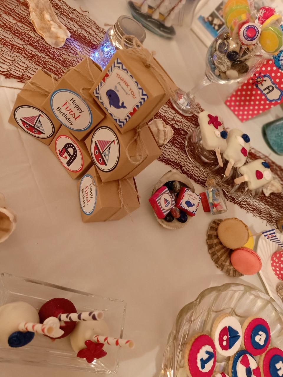 Birthday crafts Anas 5