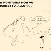 """La storia del detto popolare: """"Se la montagna non viene a Maometto, allora Maometto va alla montagna"""""""