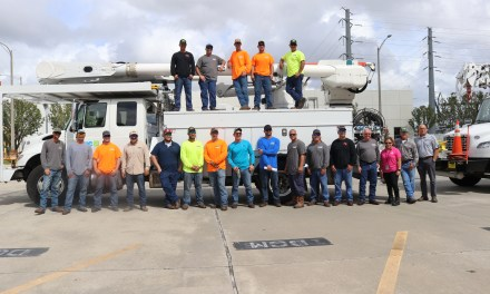 OUC's Electric and Water Crews Help With Panhandle Restoration
