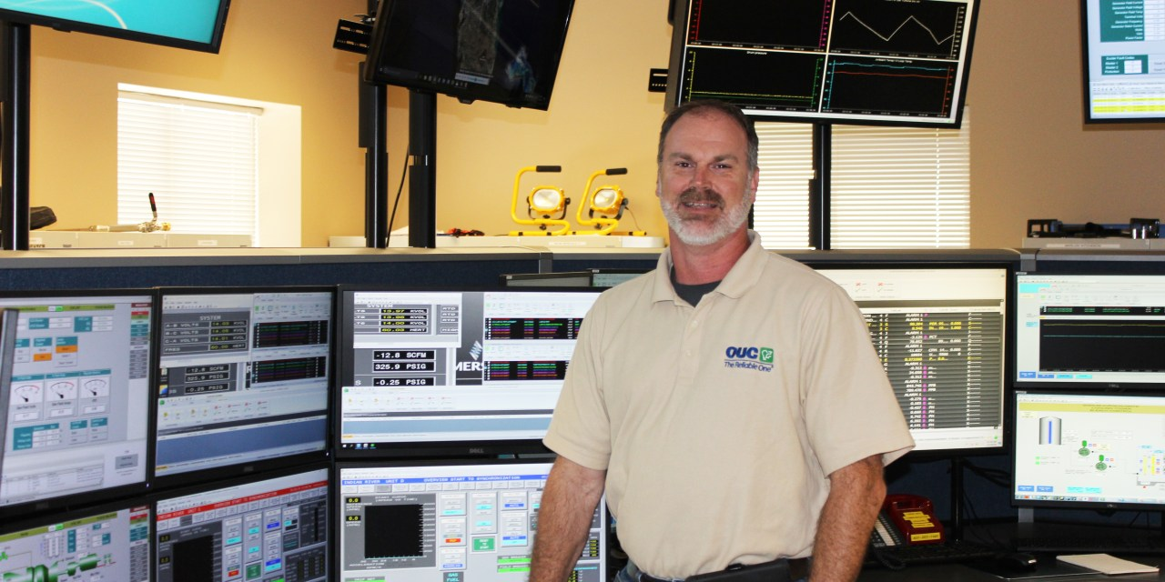 From U.S. Navy Electrician to OUC Gas Generation Supervisor