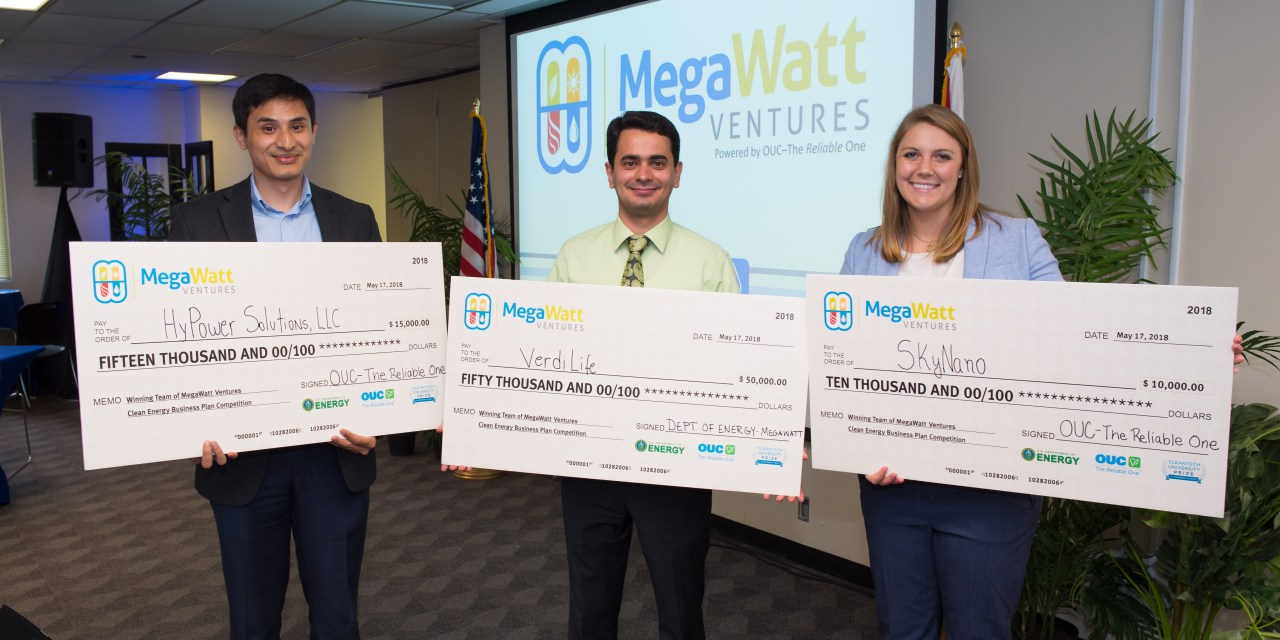 """OUC Hosts Megawatt Ventures """"Shark Tank"""" Style Competition at Stanton Energy Center"""
