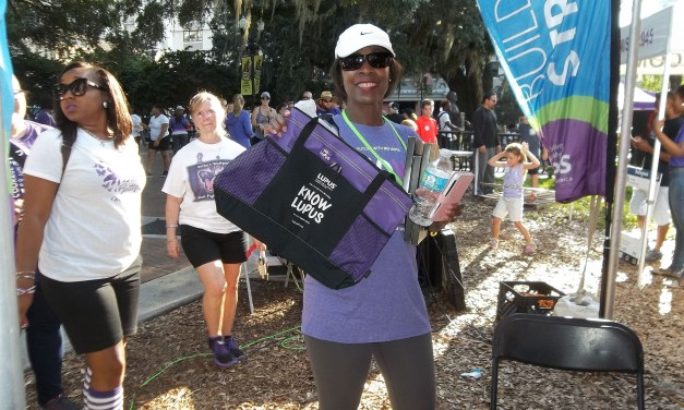 Giving Back to the Community: Janet Pinder Walks to End Lupus
