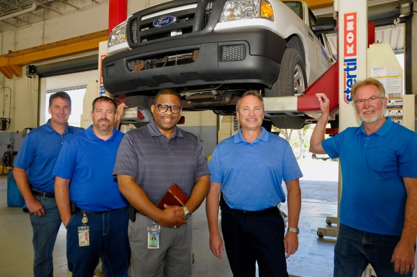 From Chainsaws to Bulldozers, Fleet Services Keeps 'Em Running
