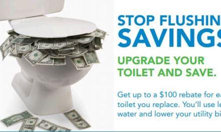 Save Water and Get $100 Rebate, Too