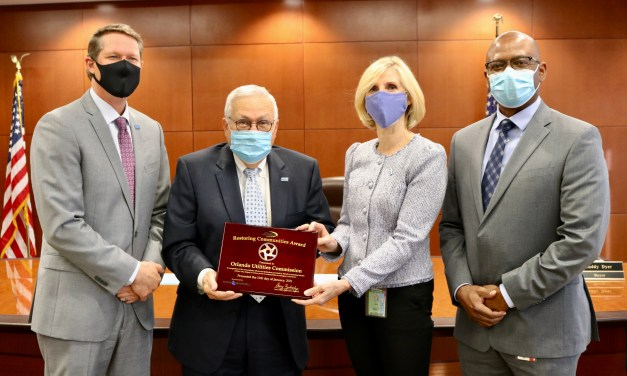 OUC HONORED FOR HURRICANE AID