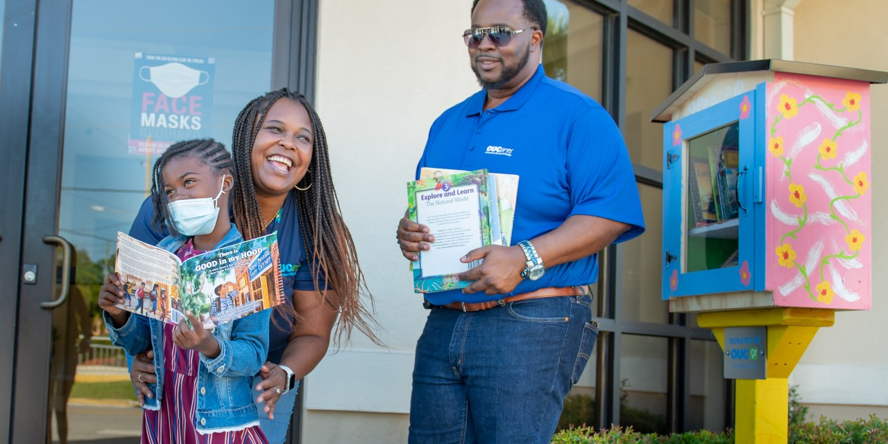 OUC SETS UP 'LITTLE' LIBRARIES IN EMPOWERMENT ZONE