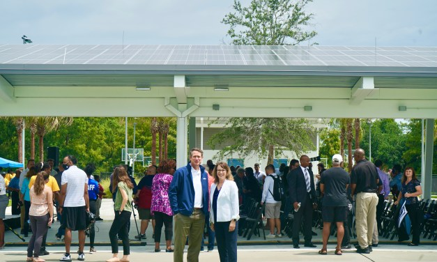 OUC JOINS CITY IN CELEBRATING PARK REOPENING