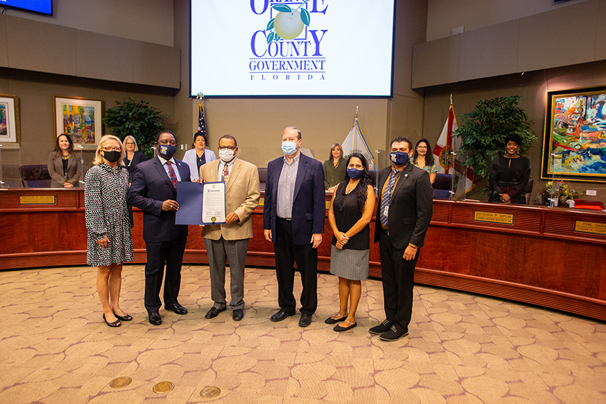 OUC JOINS ORANGE COUNTY IN ENERGY EFFICIENCY PROCLAMATION