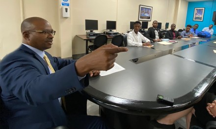 OUC EXEC SHARES SUCCESS TIPS WITH JOB TRAINEES